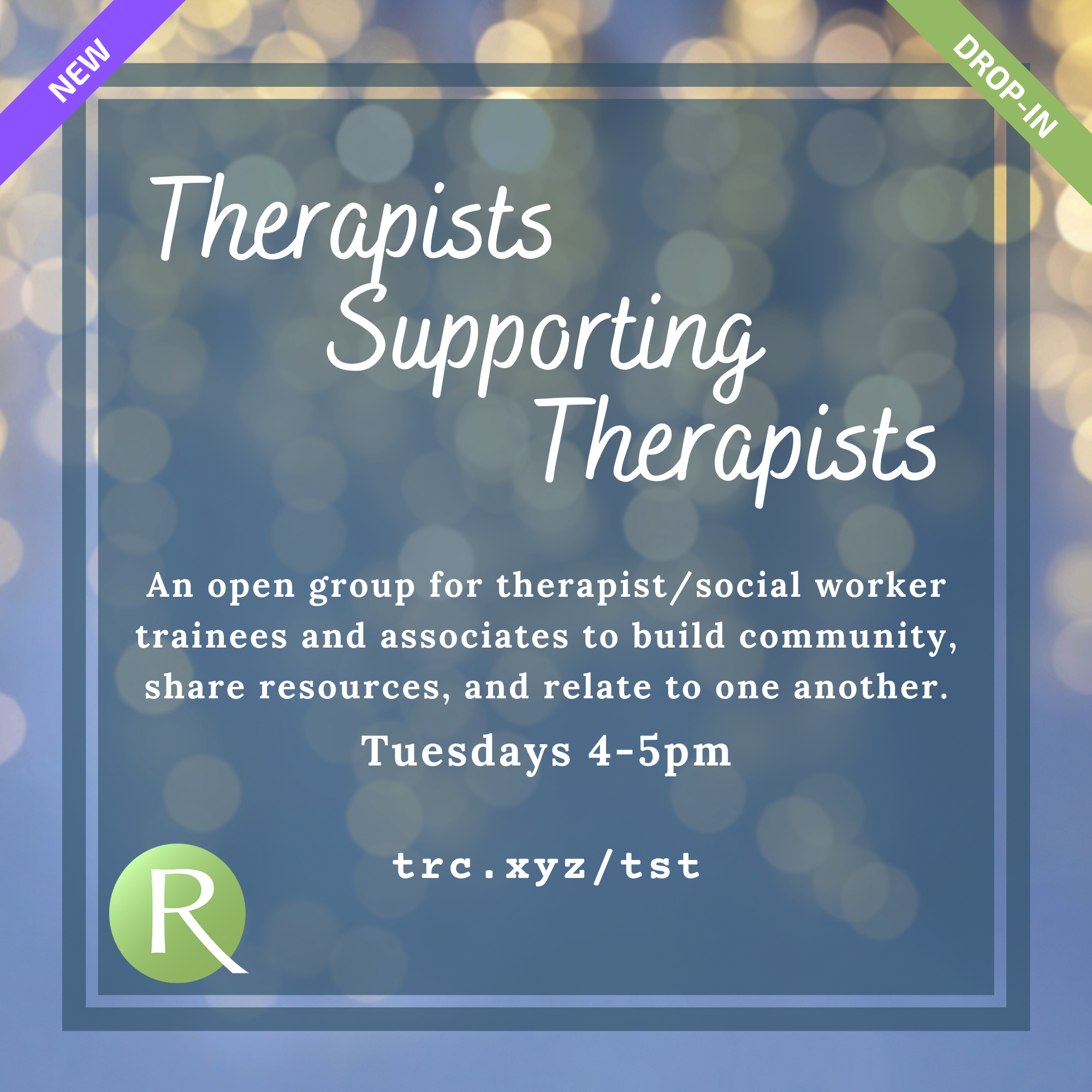 Therapists Supporting Therapists