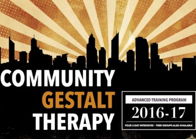 Community Gestalt Therapy